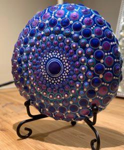 Blue heART stone
